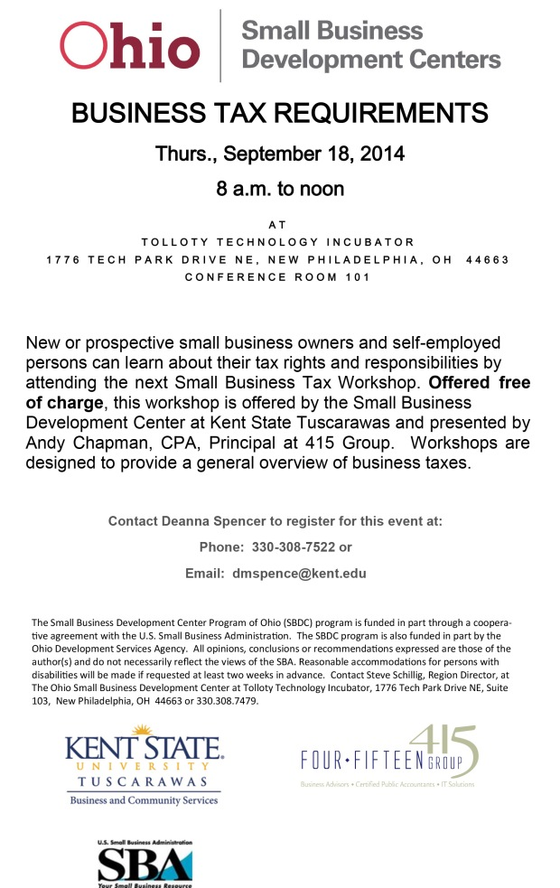 Business Tax Requirements